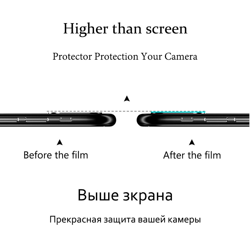KHW1821_6_Camera Lens Screen Protector For Huawei P20 Tempered Glass Clear LCD Film