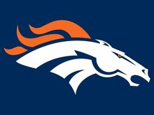 Denver Broncos Flag 3ft x 5ft Polyester Banner 90x150cm white sleeve with 2 Metal Grommets ,11057(China)