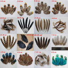 20 pcs  16 kinds of natural pheasant chicken feathers goose plume Party Clothing Accessories DIY Craft decoration