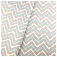 Gray 100% Cotton Fabric Wave Twill Printed Tissue Telas DIY Patchwork Sewing Craft Quilts Baby Clothing Handmade Dolls Tilda