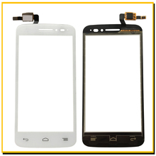 Black/White Touch Screen Digitizer Glass For Alcatel One Touch POP 2 5042D OT5042 5042 Touchscreen Front Glass Panel Sensor+Tool(China)