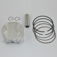 High Performance Motorcycle Piston Kit Rings Set For SUZUKI Burgman AN400 STD +50 +100 Bore Size 83mm 83.5mm 84mm NEW