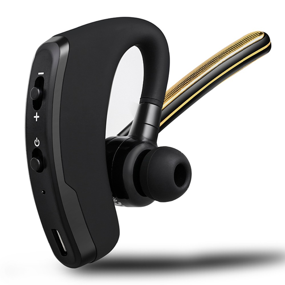 Handsfree Business Bluetooth Headset Voice Control Bass Wireless Sport Bluetooth Headphone Noise Cancelling Earphone with Mic<br><br>Aliexpress