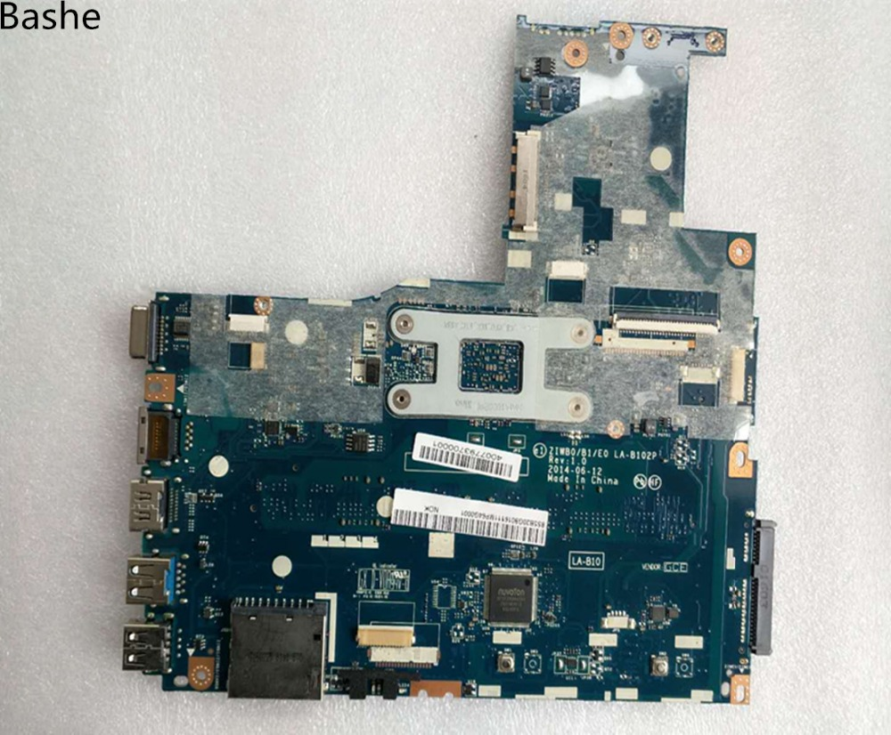 Lenovo Ideapad B50-30 Motherboard N2840 5B20G90100 ZIWB0//B1//E0 LA-B102P Test OK