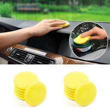 12 Pcs/Set High Quality Car Waxing Polish Wax Foam Sponge Applicator Pads For Clean Cars Vehicle Car Clean Toos