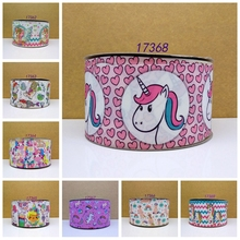 Free shipping 2016 new arrival pets shop ribbons Hair Accessories ribbon 10 yards printed grosgrain ribbons 17368(China)