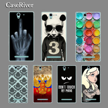CaseRiver For Sony Xperia C3 CASE, Hard Plastic Case Cover For Sony Xperia C 3 C3 / C3 Dual / D2502 S55T S55u D2533 Phone Case
