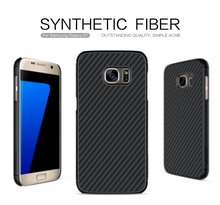 Nillkin Carbon Fiber Case For Samsung Galaxy S7 Synthetic Fiber Back Cover Phone Bag Case For Samsung S7 Military Quality 5.1''