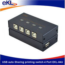 eKL High quality 4 ports USB device sharing switch