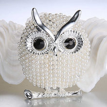 2016 New Hot Lovely Women Owl Animal Brooch Pin Wedding Bridal Brooches Jewelry Xmas Gift