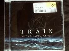 Train - My Private Nation USA Original CD SEALED Jewel case damaged