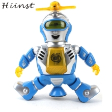 HIINST Factory Price Electronic Walking Dancing Smart Space Robot Astronaut Kids Music Light Toys  wholesale S7 AUG1425