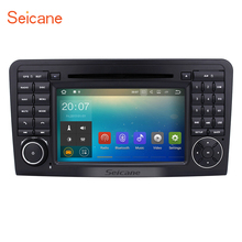Android 7.1.1 GPS Radio DVD Player for 2005-2012 Mercedes Benz ML CLASS W164 ML350 ML430 ML450 with Bluetooth WIFI Video Canbus(China)