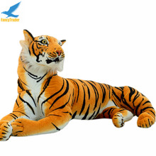 Fancytrader 67'' Jumbo Lifelike Giant Soft Plush Stuffed Simulation Emulational Tiger Toy Nice Gift 170cm Free Shipping FT50174