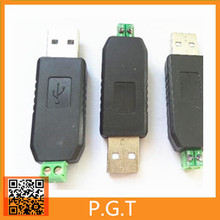 1pcs USB to RS485 485 Converter Adapter Support Win7 XP Vista Linux Mac OS WinCE5.0(China)