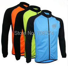 Best Selling 2013 New Arrival Long Sleeve  Cycling Sports Jersey Bike Jersey Made From High Quality Materials Some Color