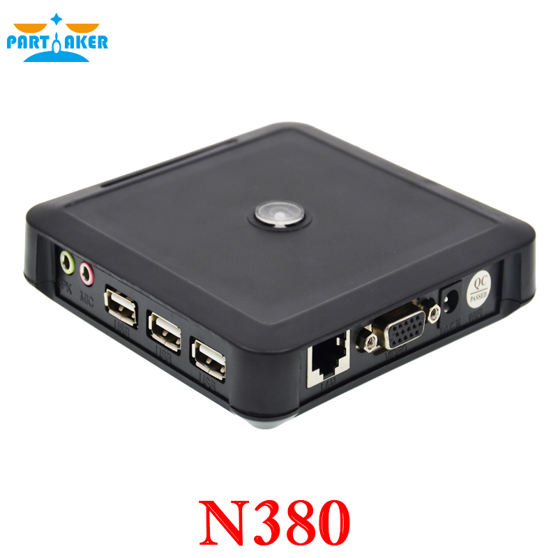 Newest ARM11 Thin Client Net Computer PC Station N380 Win CE 6.0 Embedded Server OS Support Winows 7 /vista/Linux/xp<br>