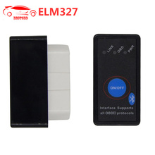 Super MINI ELM327 V1.5 Software V2.1 Bluetooth with Switch Button Multi-Langugae OBDII CAN-BUS Works ON Android Torque/PC