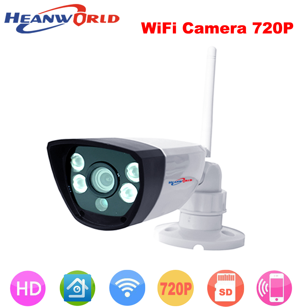 Wireless 720P IP camera wifi support micro SD card Surveillance Video IP cam webcam outdoor waterproof Night Vision for home use<br>