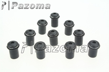 PAZOMA Universal Black Fairing Windshield Nuts Wellnut Screw Kit Mounting Nut Wellnut For Yamaha Honda Kawasaki Free Shipping