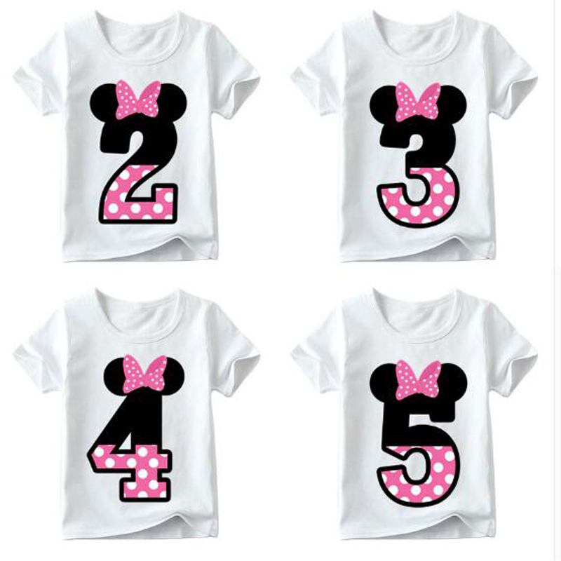 Girls, T-Shirts, boys / girls, happy birthday, cute and funny children
