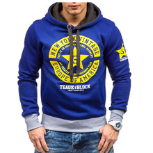 2017 new Winter Hooded Men's Urban fashion Jacket Brand personality Popular Hoodie Men's Casual Hooded Sweatshirt Sportswear(China)