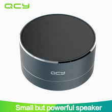 2017 QCY A10 Bluetooth 4.1 speaker mini portable loudspeaker sound MP3 music play/ TF card/FM radio/AUX with microphone calls(China)