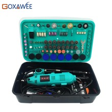 GOXAWEE 32000rpm Electric Drill Power tools Mini Grinder Rotary Tools With Polishing Tools Set Mini Grinding Tools Mini Grinder