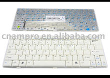 New Laptop keyboards for MSI Wind U100 White US Version - V022322AS1 US