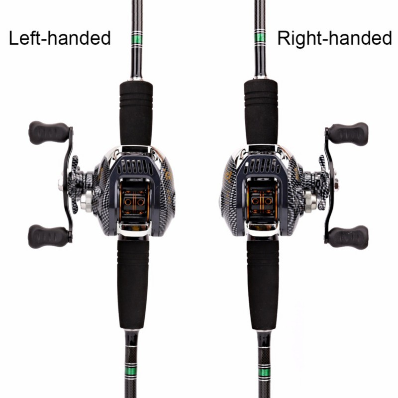 Baitcast Fishing Reel, iBuyXi.com, Fishing, Fishing Wheel Tool, Large Line Capacity Fishing Reel