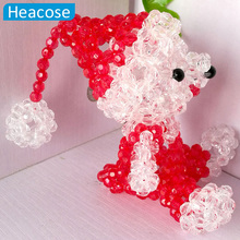 New style pure handwork christmas bear Ornaments Home decoration Accessories for market office Festival decoration new year