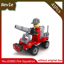 Doinbby Store 22002 41Pcs Fire Series Sprinkler Fire Engines Model Building Blocks set Bricks For Children Toys jie Star(China)