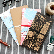 Jamie Notes Kraft Paper Vintage Portable Passport Case Traveler's Notebook Card Holder Business Planner Organizer Accessories