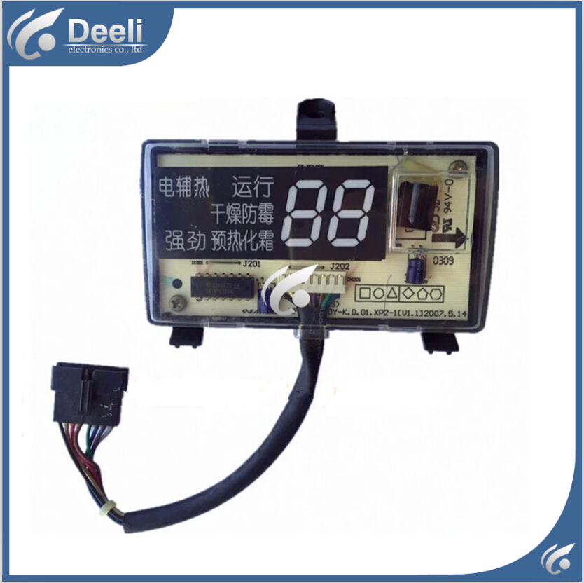95% new good working for Midea Air conditioning display board remote control receiver board KFR-35G/DY-K8<br>