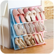 Multifunction Storage Rack Book Shelves Superposition Shoe Magazine Holder Hang in Wall&Floor Type Installation Room Organizer
