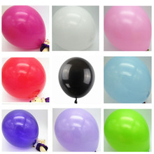 20pcs/lot 10 inch 1.5g Latex balloon Helium Round balloons 16colors Thick Pearl balloons Wedding Party Birthday Balloons