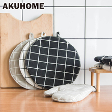 Cotton Pot Mat pad Heat-resisting Heatproof table cloth pad slip-resistant Kitchen Cooking