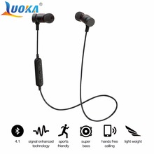 LUOKA HT9 Bluetooth Headphones Sport Running With Mic Earbud Wireless Earphones Bass Bluetooth Headset For iPhone Xiaomi mp3(China)