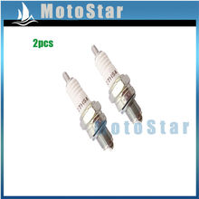 2x NGK C7HSA Ignition Spark Plug For  ATV Quad Pit Dirt Motor Bike Motorcycle Moped Scooter 50cc 70cc 90cc 110cc 125cc