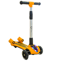 New Children Three Wheel Balance Car Scooter Foldable No Foot Pedal Child Swing Car Twist Car Baby Walker Tricycle Riding Toys(China)