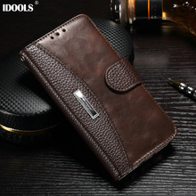 For Meizu M3S Case Cover 5.0 Inch Original Brand Wallet PU Leather Flip Cover Phone Cases For Meizu M3S M5 Note U20 Pro 6 IDOOLS(China)