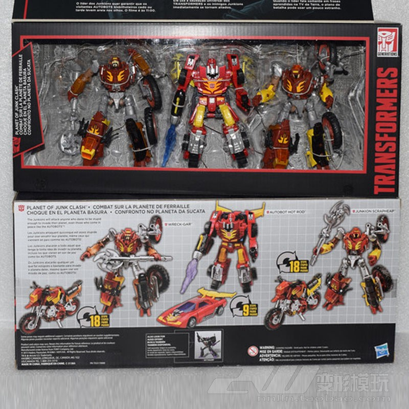 Hasbro Transformers SS01 D class bumblebee 3C box set toy