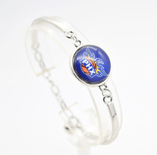 2017 New Basketball Charm Phoenix Bracelets&Bangle for Women Super Bowl Fans Jewelry