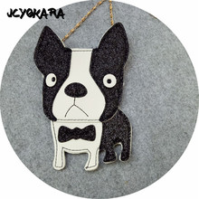 JCYOKARA Lovely Children One Shoulder Bag Coin Purse Cute Dog Girls Messenger Bag Baby Accessories Kids Small Bag Size 12.5*18cm(China)