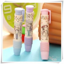 New Cute Kawaii Rubber Eraser Fashion Drawing Eraser Creative Item Product for Kids Korean Stationery Free shipping 658
