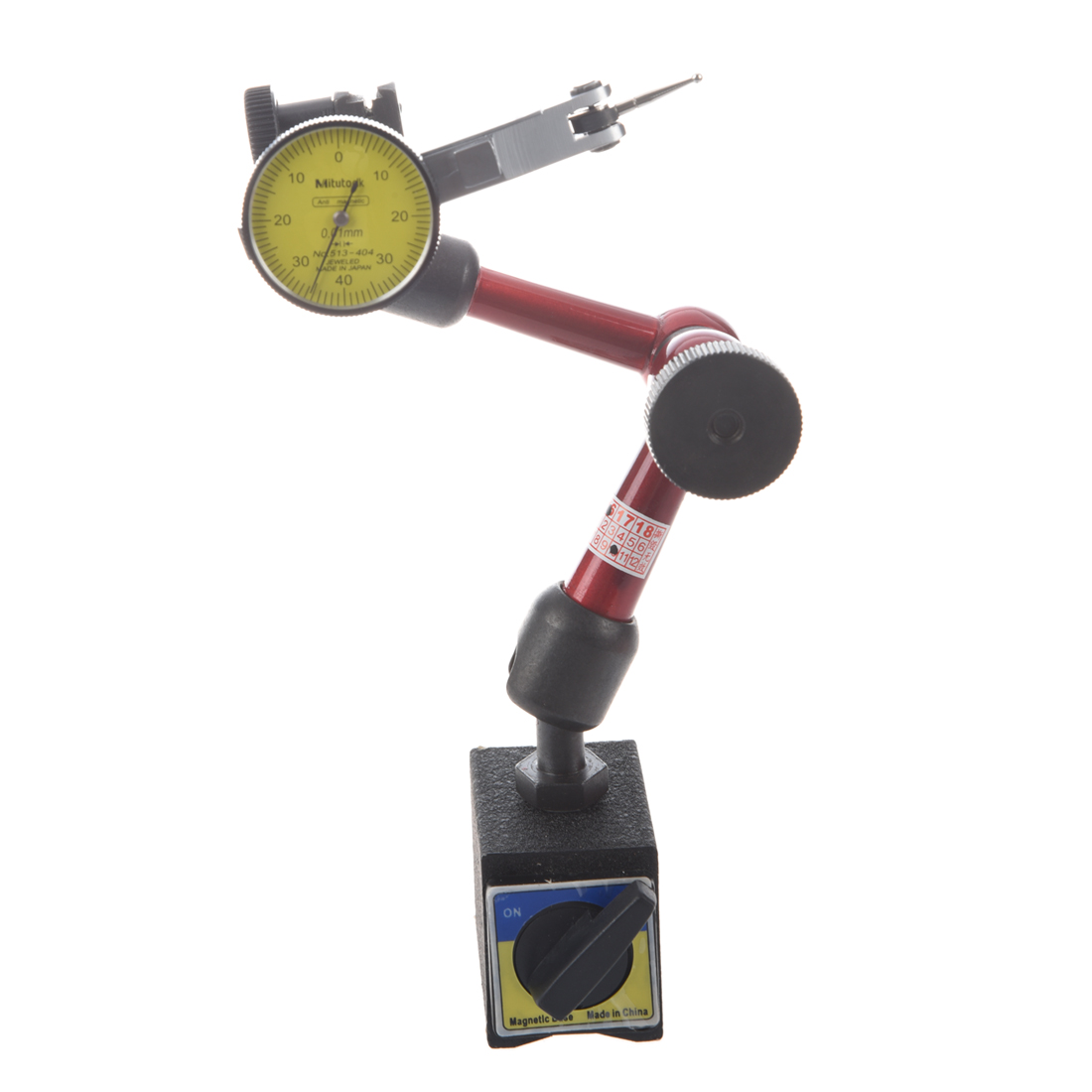 magnetic digital Accuracy 0.01mm Dial indicator<br>