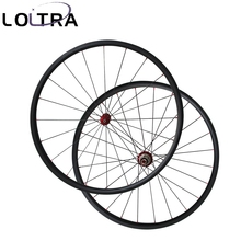 LOLTRA super light 24mm tubular 700C bicycle wheels carbon Straight pull wheelset
