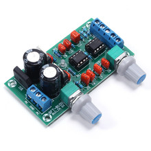 22Hz-210Hz Low-Pass Filter Plate Preamp Board HI-FI Module With LED Indicator Light  Hifi Circuit Board Subwoofer