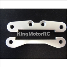 King Motor Rear Hinge Pin Supports, Braces (2) Fits HPI Baja 5B 2.0 SS 5T Rovan
