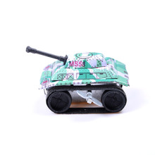 2017 New Kids Children Vintage Tin Toys Friction Tank Modern Clockwork Toy Gift Wholesale(China)